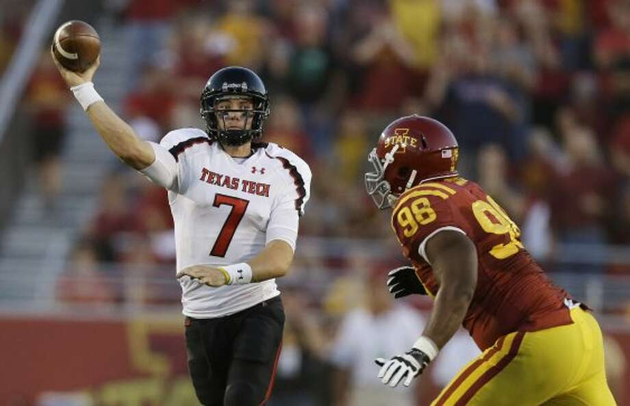 Seth Doege, Texas Tech, 30-46-2, 331 yards, 3 TDs (Charlie Neibergall / Associated Press)
