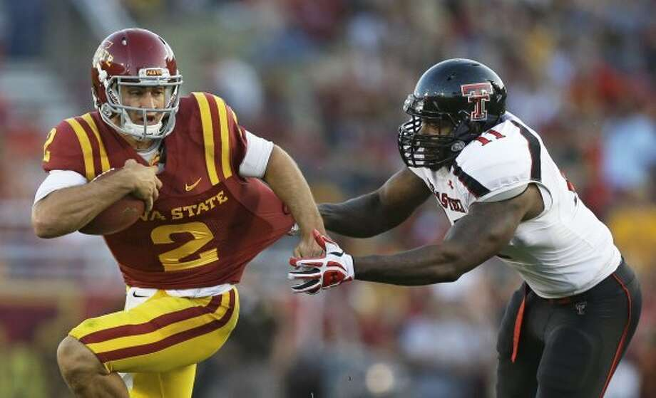 Steele Jantz, Iowa State, 10-20-3, 73 yards, 1 TD   (Charlie Neibergall / Associated Press)
