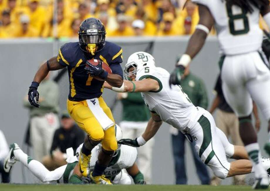 Tavon Austin, West Virginia, 14 catches, 215 yards, 2 TDs (Justin K. Aller / Getty Images)