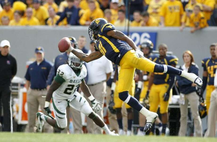 J.D. Woods, West Virginia, 13 catches, 114 yards, 1 TD (Justin K. Aller / Getty Images)