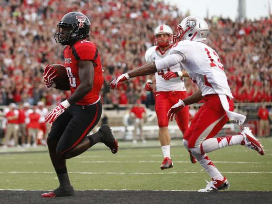 Eric Ward, Texas Tech, 9 catches, 122 yards, 1 TD (photo from Sept. 15) (Stephen Spillman / Associated Press)