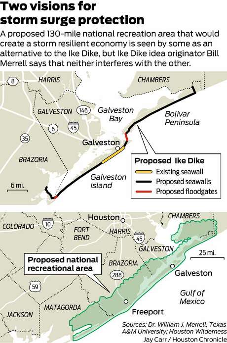 Galveston Levees Would Cost Less  Work Better Than