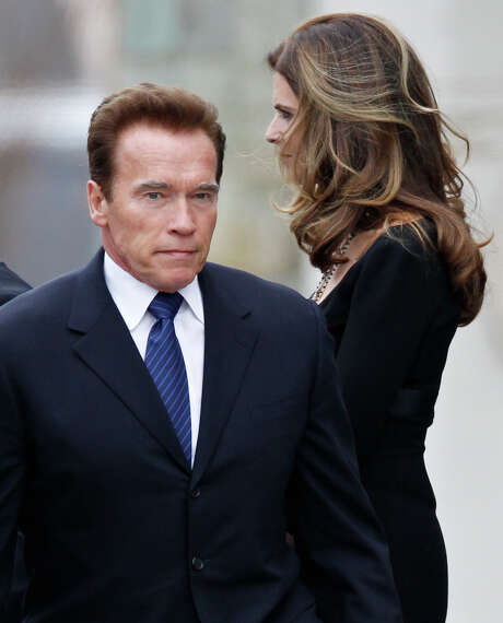 Arnold Schwarzenegger in his new autobiography says that he kept his wife, Maria Shriver, in the dark about many of his career decisions. Photo: J. Scott Applewhite / AP