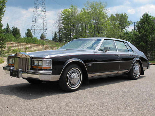 25. 1980 Cadillac Seville -- This was a front-drive car that failed to win too many fans. (Photo: That Hartford Guy, Flickr)