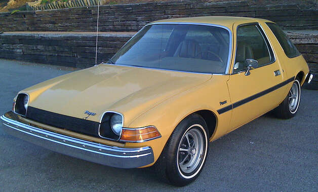20. 1975 AMC Pacer -- AMC bet on the wide small car find a following, but it didn't take hold. The performance didn't make anyone want to buy the car either. (Christopher Ziemnowicz, Wikipedia)