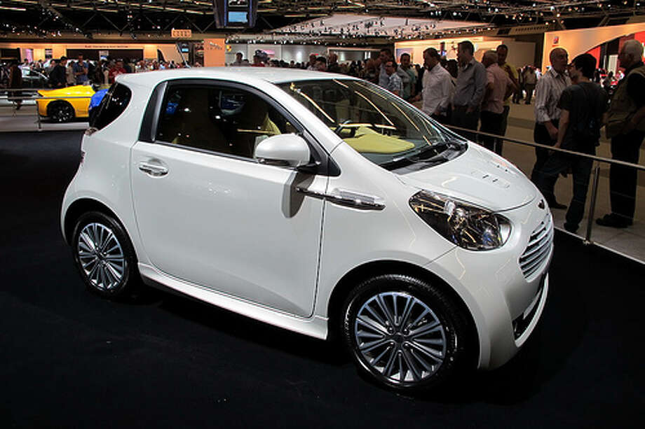 18. 2011 Aston Martin Cygnet -- This is just a restyled Toyota iQ that didn't take hold with drivers. (Photo: FaceMePLS, Flickr)