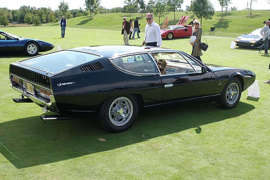 14. 1968 Lamborghini Espada -- The biggest knock against the car is its bizarre style. Car makers made plenty of odd looking cars in the 1960s and 1970s, but this one certainly stands out. (Photo: Harvard Avenue, Flickr)