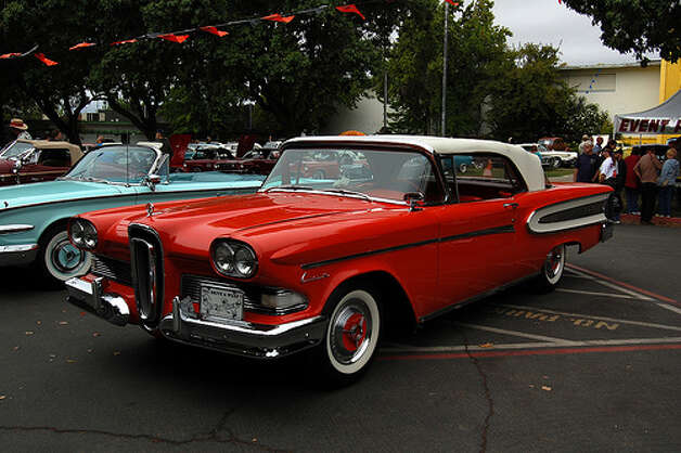 7. 1958 Edsel Corsair -- This is one of the legendary flops of all time. The car turned out to be a marketing disaster after it sold fewer than 10,000 cars in 1958. (Photo: The Brain Toad, Flickr)