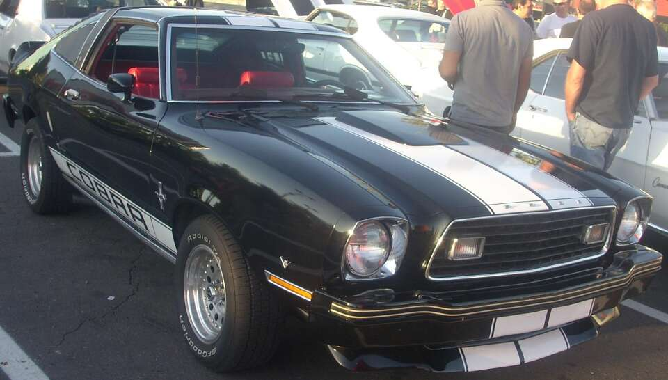 2. 1974 Ford Mustang II -- This car was one of the more popular cars due to the fuel crisis, but