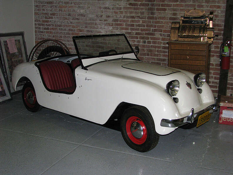 34. 1950 Crosley Hotshot -- The car has a great name, but it had a terrible engine under the hood