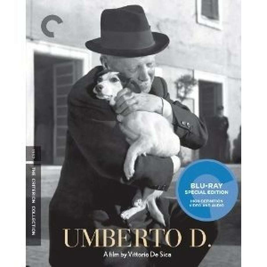 "Blu-ray cover: ""Umberto D."" Photo: Criterion Collection"