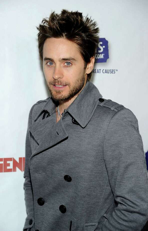 Vegetarian Jared Leto is a big fan of veggie burgers.  Photo: Frazer Harrison, Getty Images / Getty Images North America