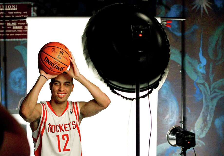 Houston Rockets guard Kevin Martin poses for a portrait during their NBA basketball media day, Monday, Oct. 1, 2012, in Houston. (AP Photo/Houston Chronicle, Brett Coomer)  MANDATORY CREDIT Photo: Brett Coomer, Associated Press / Houston Chronicle