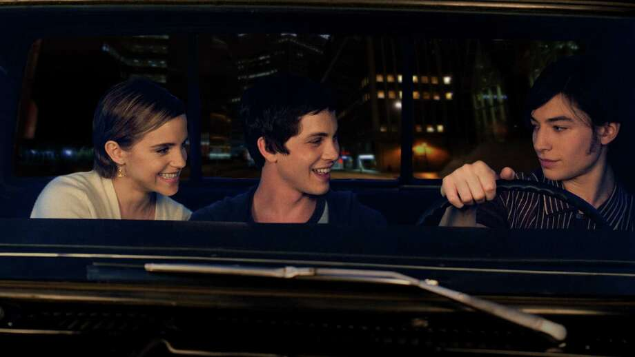 "This image released by Summit Entertainment shows, from left, Emma Watson, Logan Lerman, and Ezra Miller in a scene from ""The Perks of Being a Wallflower."" (AP Photo/Summit Entertainment, John Bramley) Photo: John Bramley, HOEP / Summit Entertainment"