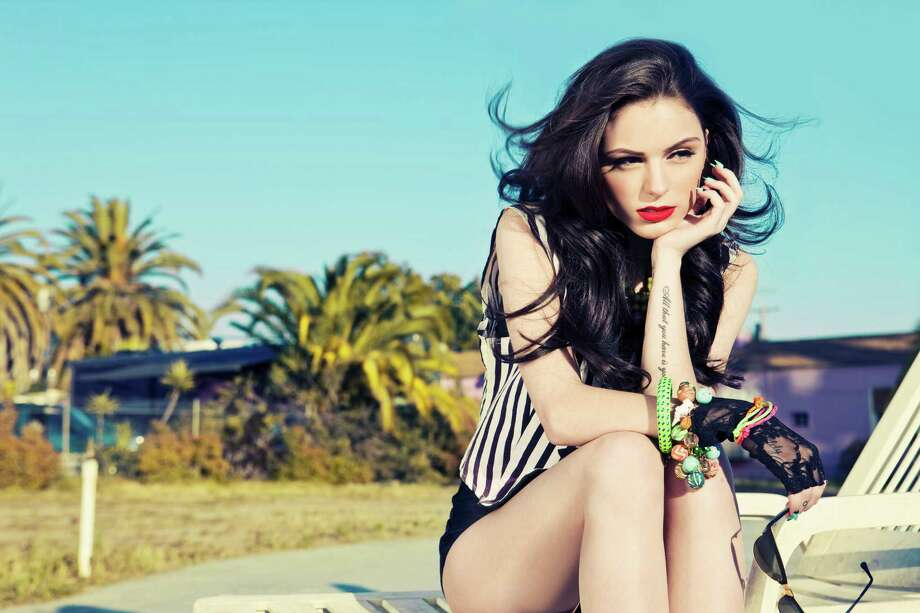 """Cher Lloyd was fourth on """"The X Factor"""" (UK) season seven. Photo: Courtesy Of Epic"""
