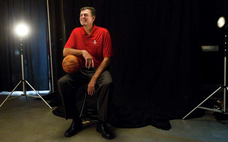 Houston Rockets head coach Kevin McHale poses for a portrait during Rockets Media Day Monday, Oct. 1, 2012, in Houston. Photo: Brett Coomer, Chronicle / © 2012 Houston Chronicle