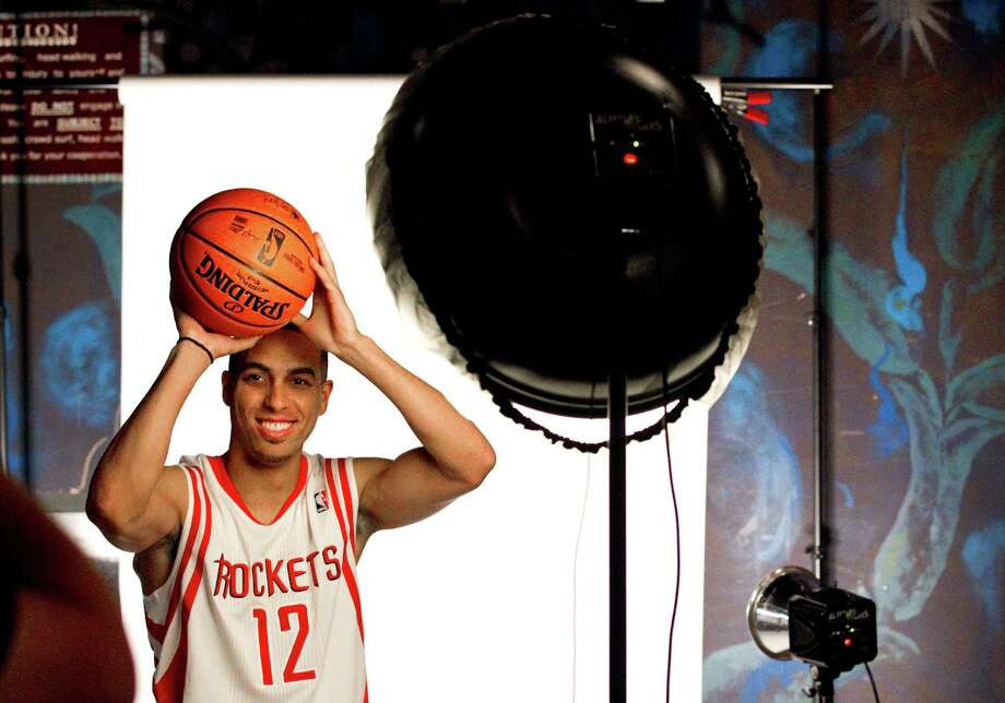 Houston Rockets guard Kevin Martin poses for a portrait during Rockets Media Day Monday, Oct. 1, 2012, in Houston. Photo: Brett Coomer, Chronicle / © 2012 Houston Chronicle