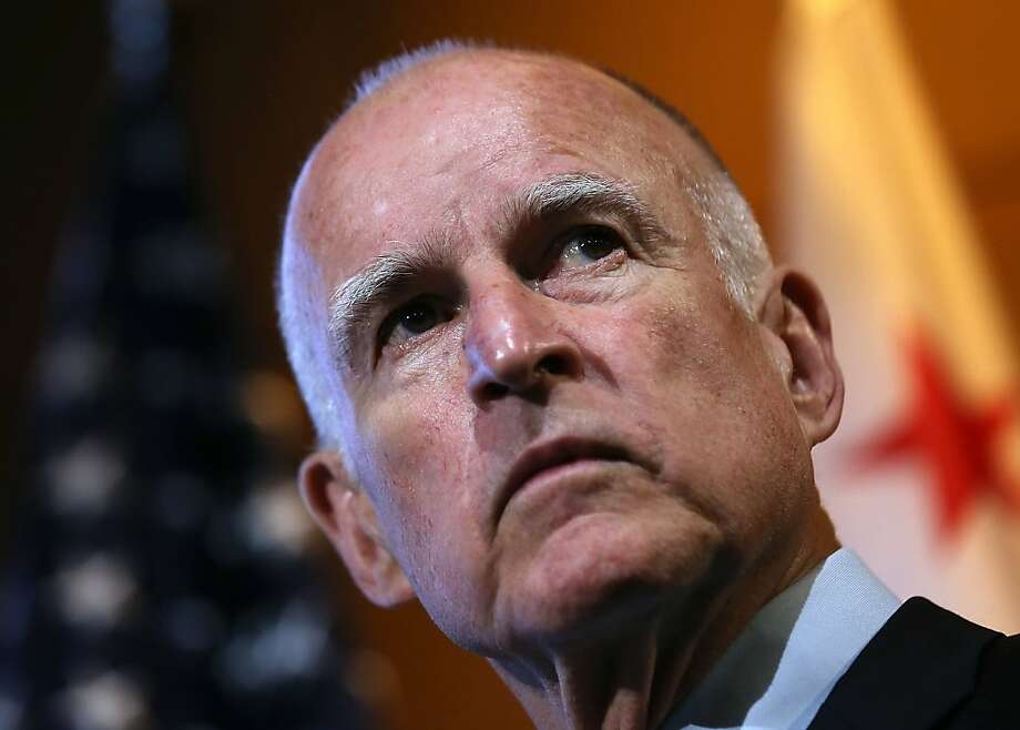 Jerry Brown Photo: Justin Sullivan, Getty Images