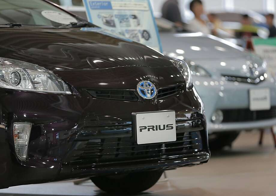 The Prius has helped sales of Toyotas to increase by 36 percent in the past year. Photo: Itsuo Inouye, Associated Press