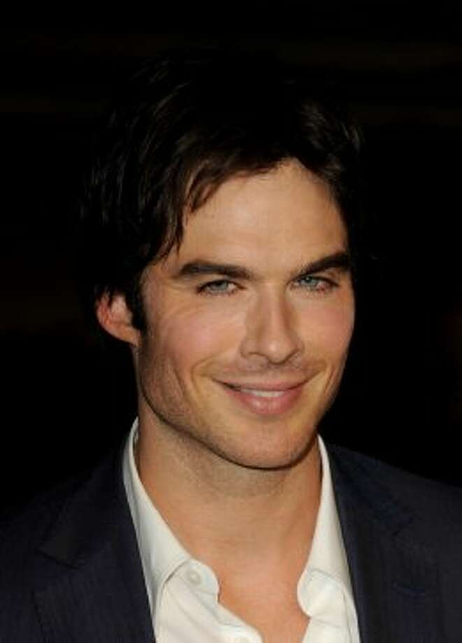 "Sticking with the vampire theme, here's Actor Ian Somerhalder, of ""The Vampire Diaries."""