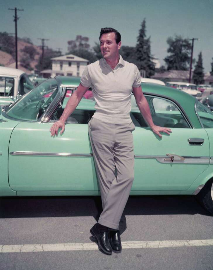 1973: Co-host Rock Hudson Photo: Getty Images / 2002 Getty Images