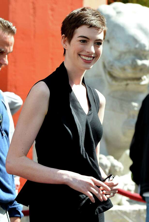 2011: Co-host Anne Hathaway Photo: Frazer Harrison, Getty Images / 2012 Getty Images