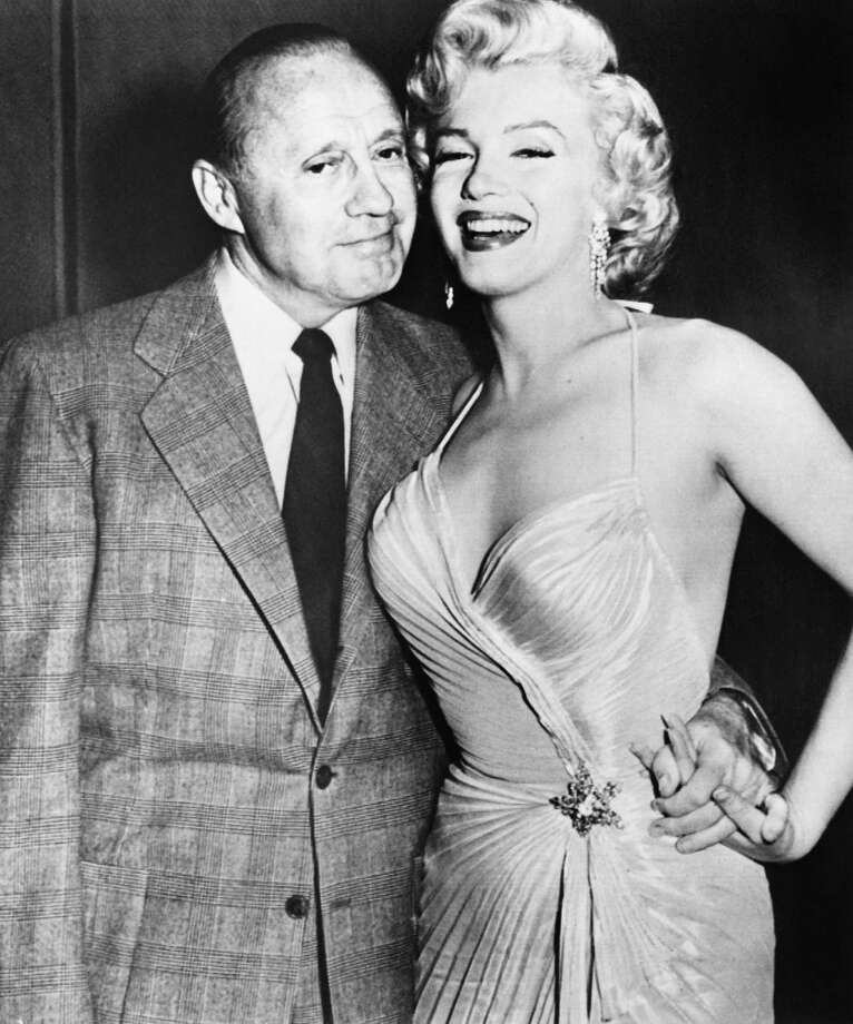 1944: Jack Benny, pictured with Marilyn Monroe. Photo: ARCHIVE, Getty Images / 2012 AFP