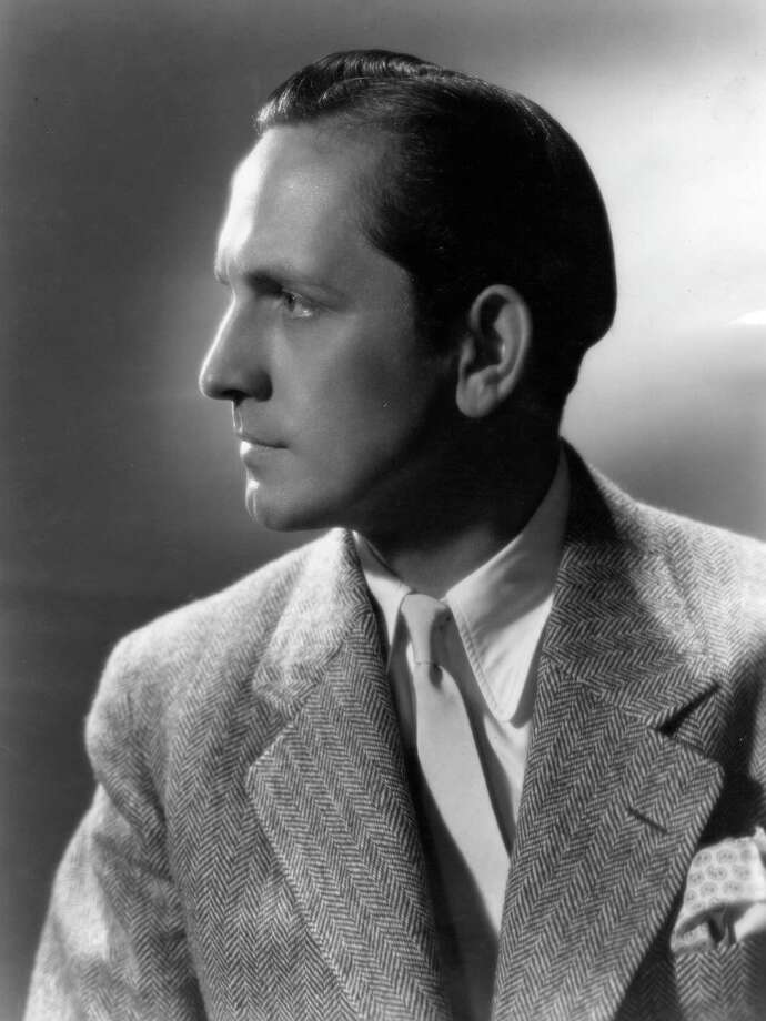 1954: Co-host Fredric March Photo: Hulton Archive, Getty Images / Hulton Archive