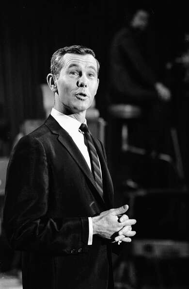 1979: Johnny Carson, who ultimately hosted the event five times.