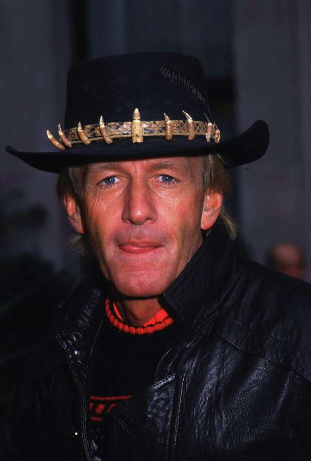 1987: Co-host Paul Hogan Photo: Hulton Archive, Getty Images / Hulton Archive
