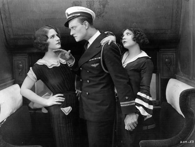 1930: Conrad Nagel hosted his first of three appearances. Lawrence Grant played host the following year. Nagel is pictured above with Norma Shearer and Renee Adoree. Photo: Hulton Archive, Getty Images / Hulton Archive