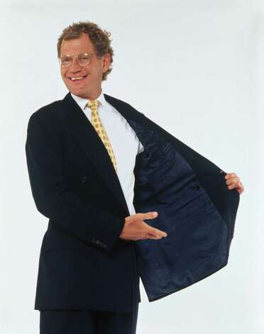 1995: David Letterman Photo: Antonia Hille, Getty Images / 2009 Getty Images