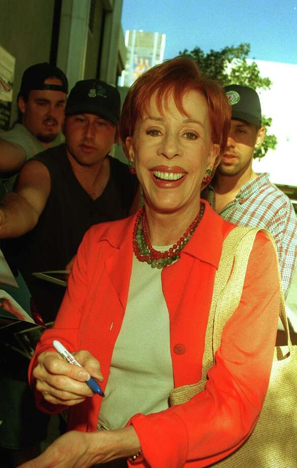 1973: Co-host Carol Burnett (Photo by Online USA) Photo: Getty Images / Getty Images North America