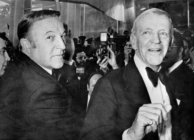 1976: Co-host Gene Kelly, pictured above with Fred Astaire Photo: AFP, Getty Images / AFP