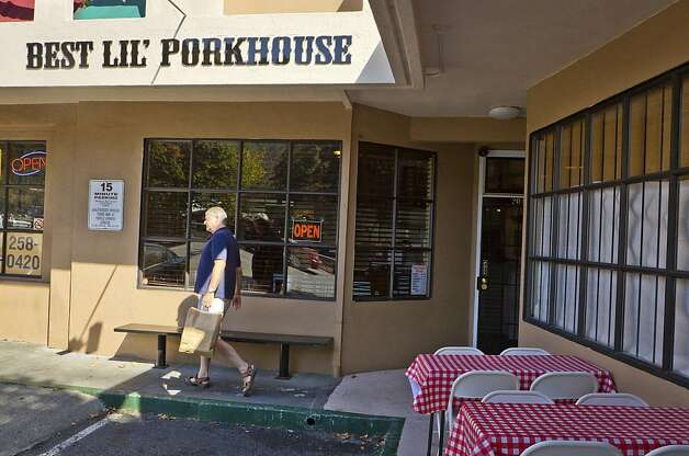 The exterior of Best Lil' Pork House in San Rafael. Photo: John Storey, Special To The Chronicle
