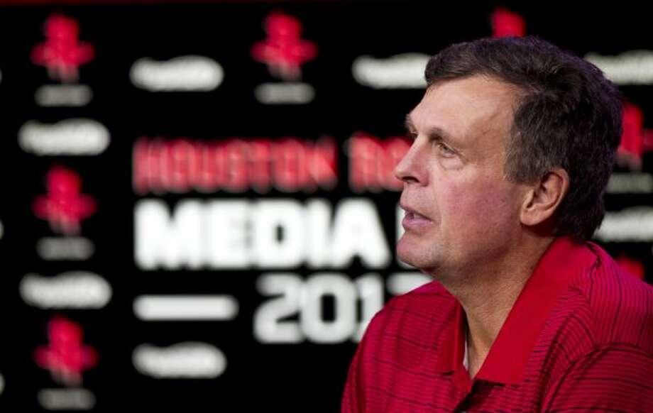 Rockets coach Kevin McHale is in his second year with the Rockets. (Brett Coomer / © 2012 Houston Chronicle)