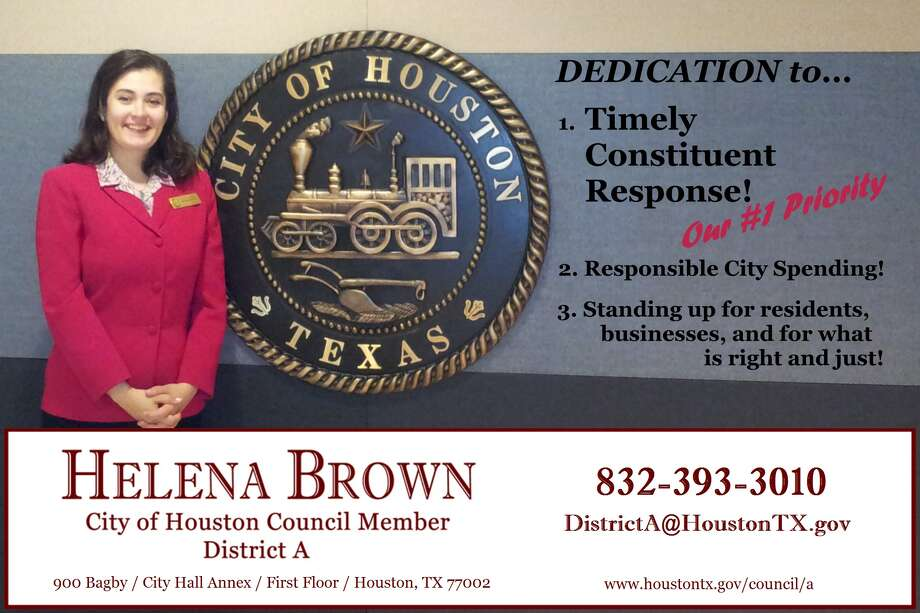 Councilwoman Helena Brown spent about $3,000 of taxpayer money on magnets that look like this. The city attorney has declared that is an illegal expenditure. Photo: Handout