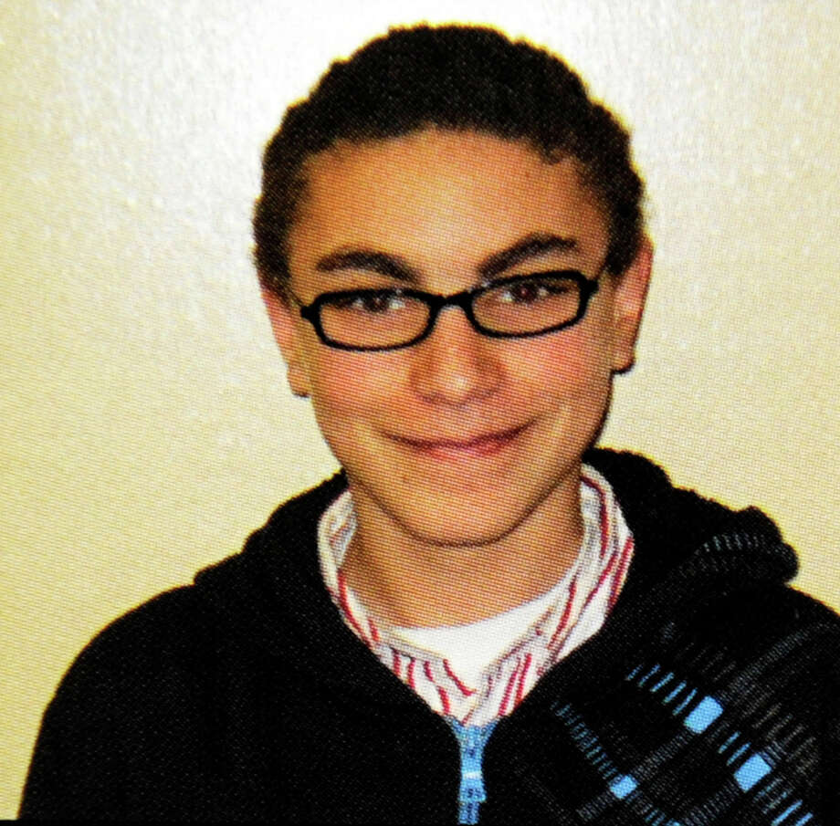 Tyler Guliano as he appeared in the 2012 New Fairfield High School yearbook. Photo: Contributed Photo