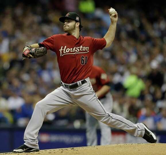Sept. 29: Brewers 9, Astros 5Dallas Keuchel struggled in his last start