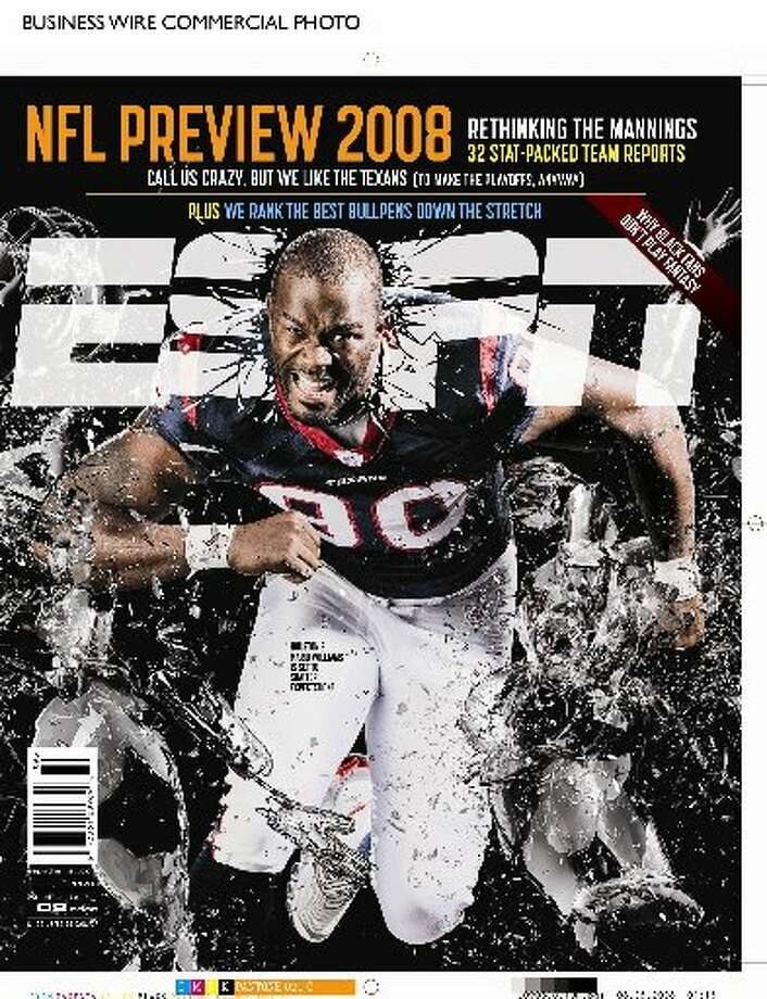 Mario Williams is a two-time ESPN The Magazine cover star. (ESPN PR)