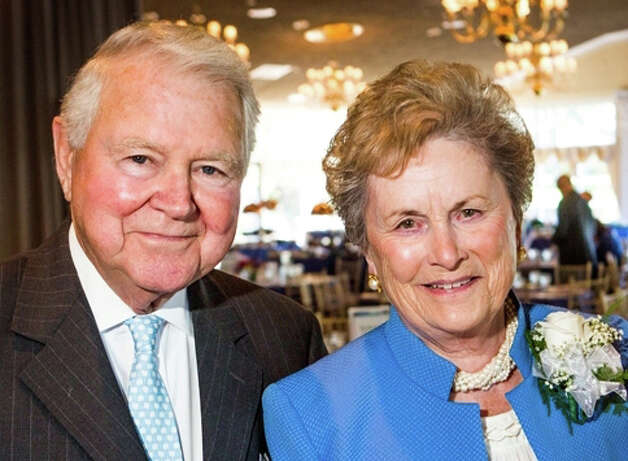 Carol and George Bauer of Wilton, formerly of New Canaan, will be honored for their invaluable contributions to Norwalk Hospital, especially the Emergency Department, on Oct. 13. Photo: Contributed Photo
