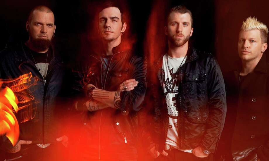 Hitmaking Canadian rock band Three Days Grace. Photo: Courtesy Photo
