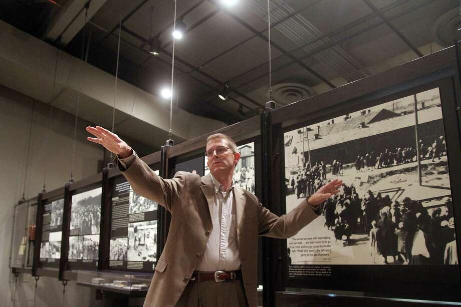 A trip to Washington, D.C., Europe and Israel allowed Patrick LeBlanc to gain a deeper understanding of the Holocaust that he can use to teach visitors to the Holocaust Museum Houston. Photo: Pin Lim / Copyright Pin Lim.