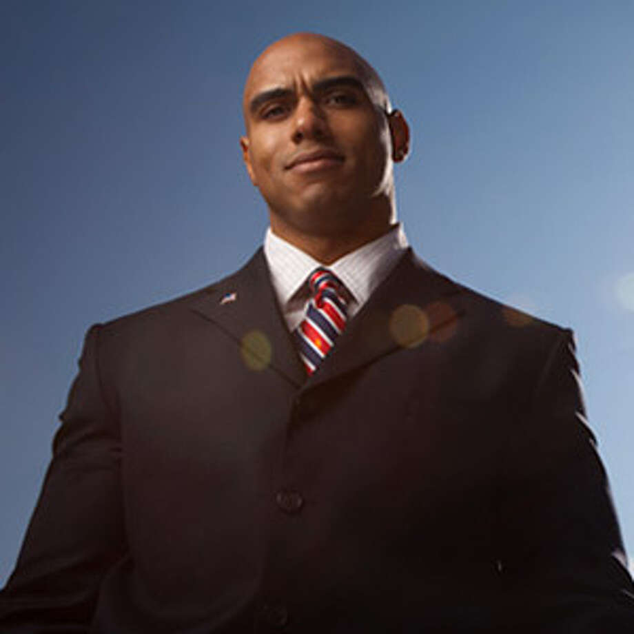 "Candidate:Andre Nigel BarnettThe Reform Party's candidate has served in the U.S. Army and currently is president/CEO at WiseDome Inc. While starting WiseDome, he also worked as a fitness model. Barnett says on his website: ""Get the ""Elephants and the Asses"" mentality out of Washington and let's get some real work done!""Website: http://andrebarnett2012.com/main/(Campaign photo) Photo: (file)"