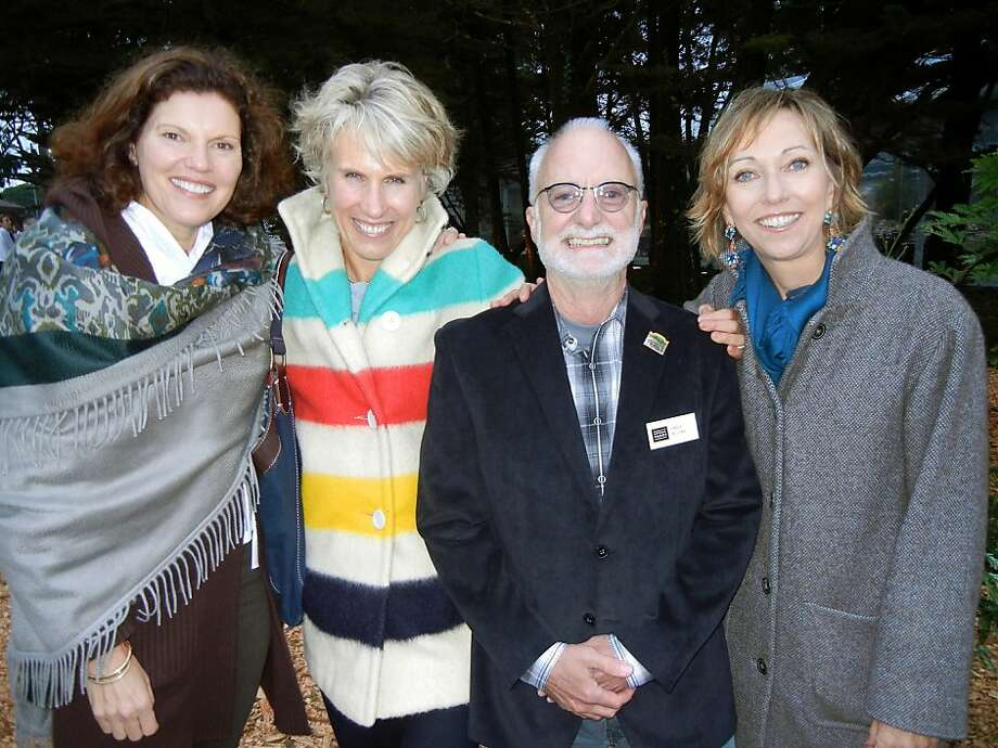 Anne Lind (left), Julie Parish, Greg Moore and Janice Barger. Photo: Catherine Bigelow, Special To The Chronicle