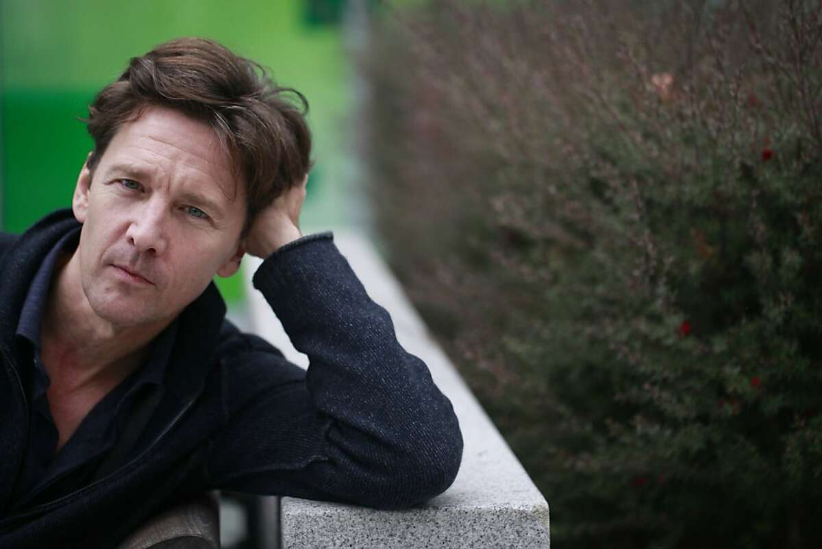 Actor Andrew McCarthy, who recently published his memoir about becoming a travel writer, sits in Yerba Buena Gardens on Friday Sep. 28, 2012 in San Francisco, Calif.