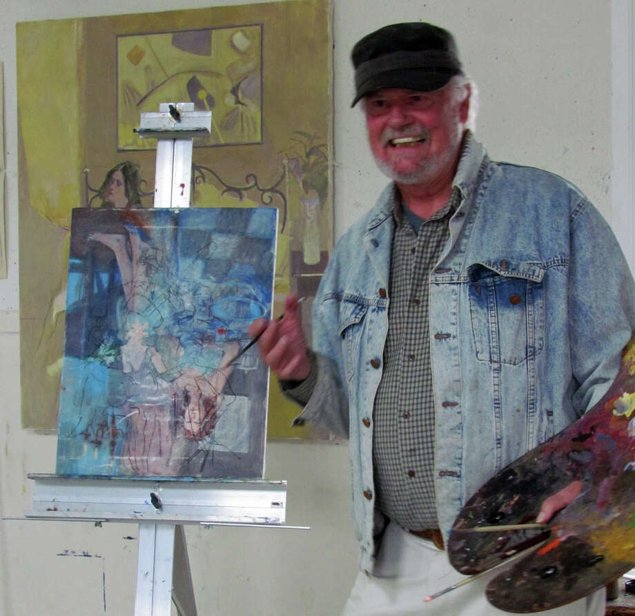 "A few spaces are available for ""How to Paint: The Art of Technique"" with Robert Baxter on Wednesday mornings at the RAC Art School. Baxter has been part of the New York area art community for many years. His paintings in both oil and watercolor have won the Paul Cezanne Medal, Aix-en-Provence, France; and awards from the American Watercolor Society, Allied Artists of America, National Academy of Design and Society of Illustrators. Photo: Contributed Photo / Norwalk Citizen"