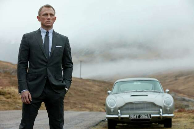 "Skyfall — Daniel Craig as James Bond in the action adventure film, ""Skyfall."" Agent 007 is real to millions of moviegoers, and once again they will flock to see Bond battle for queen and country when his 23rd official screen adventure, ""Skyfall,"" opens in October 2012. Photo: Associated Press"