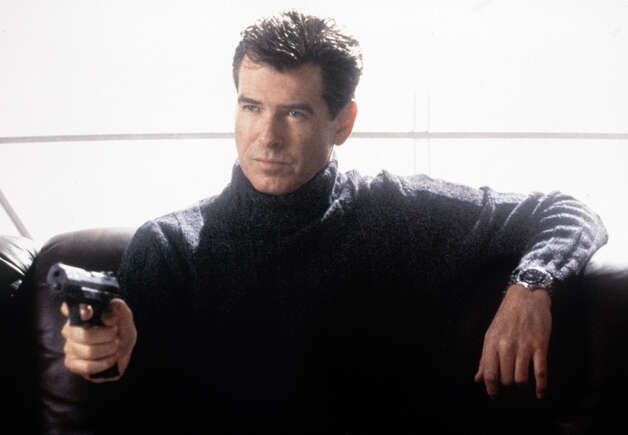 "2002: Die Another Day — Pierce Brosnan in his last Bond film, ""Die Another Day,"" the 20th installment in Hollywood's longest-running film franchise. Photo: Associated Press"