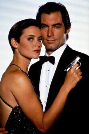 "1989: License to Kill — But it was short-lived, Timothy Dalton starred in his second (and last) Bond film, ""License to Kill"" with Carey Lowell as Pam Bouvier. Photo: Anonymous, Associated Press / AP2008"